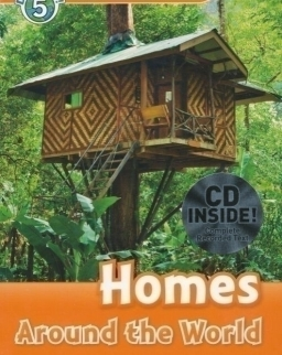 Homes Around the World with Audio CD - Oxford Read and Discover Level 5