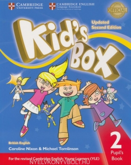 Kid's Box Second Edition Updated 2 Pupil's Book