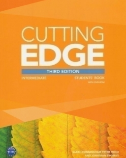 Cutting Edge Third Edition Intermediate Student's Book with DVD-Rom