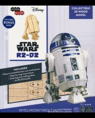 IncrediBuilds: STAR WARS R2-D2 3D Wood Model