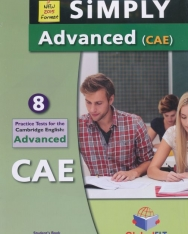 Simply Advanced (CAE) - 8 Practice Tests - Student's Book with Answer Key & CD