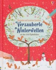 Ausmalen und kreatives Gestalten: Verzauberte Winterwelten