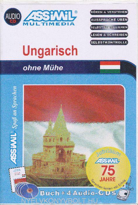 Assimil - Ungarisch ohne Mühe - Magyarul könnyen (Buch + 4 Audio-CDs)