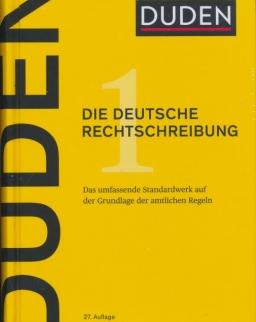 Duden 1 Die deutsche Rechtschreibung 27. völlig neu bearbeitete und erweiterte Auflage