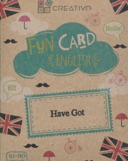 Fun Card English: Have Got