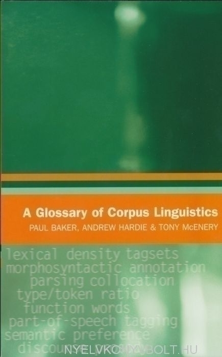 A Glossary of Corpus Linguistics