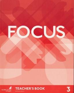 Focus 3 Teacher's Book with Multirom & Word Store