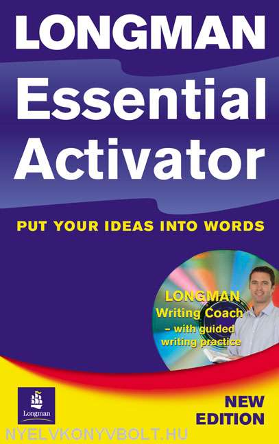 Longman Essential Activator Paperback with CD-ROM