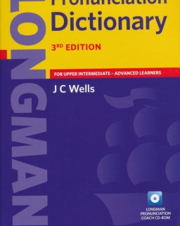 Longman Pronunciation Dictionary 3rd edition paperback with CD-Rom