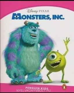 Monster, Inc. - Penguin Kids Disney Reader Level 2
