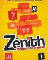 Zénith 1 Méthode de francais Livre DVD-Rom + Corrigés et transcription