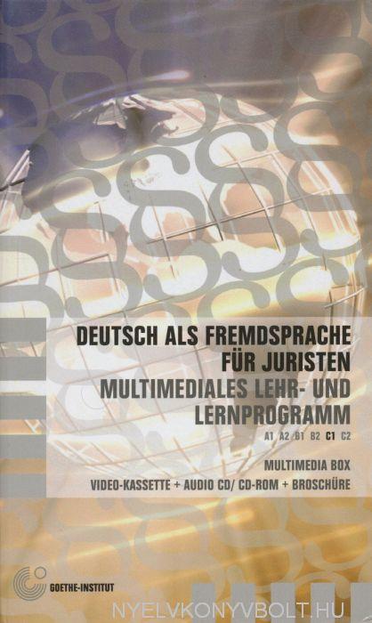 Deutsch als Fremdsprache für Juristen: Multimediales Lehr- und Lernprogramm