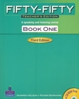 Fifty-Fifty Teacher's Edition Book One 3rd Edition- A speaking and listening course