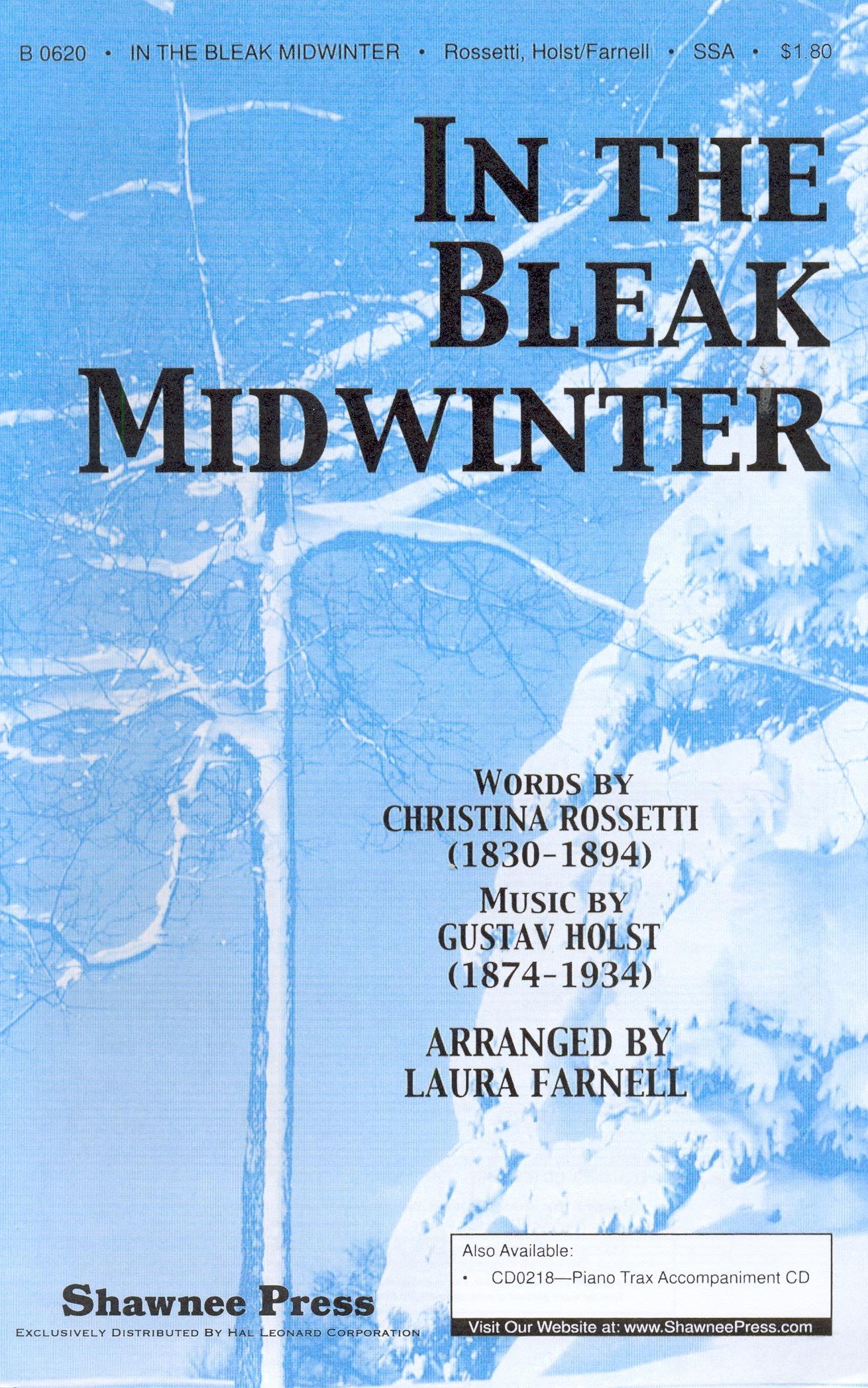 Gustav Holst: In the bleak Midwinter (3 szólamú nőikarra, zongorakísérettel)