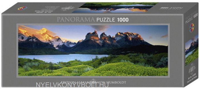 Heye Panorama Puzzle 1000 - Cuernos del Paine