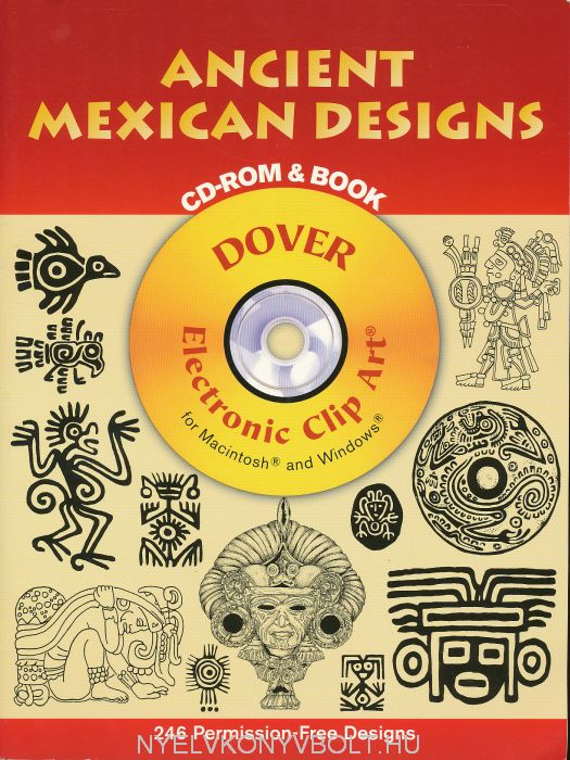 Ancient Mexican Designs CD-ROM and Book