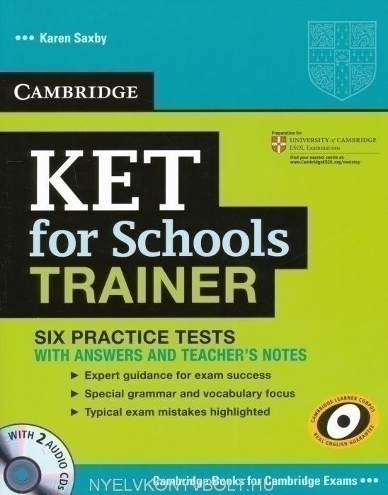 Cambridge KET for Schools Trainer with 2 Audio CDs