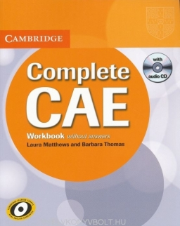 Complete CAE Workbook without Answers and with Audio CD