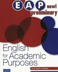 EAP now! - English for Academic Purposes Preliminary Teacher's Book