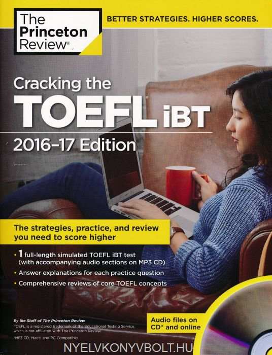 Cracking the TOEFL iBT 2016-17 Edition with Audio CD