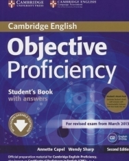 Objective Proficiency 2nd Edition Student's Book with Answers and Audio CDs (2)