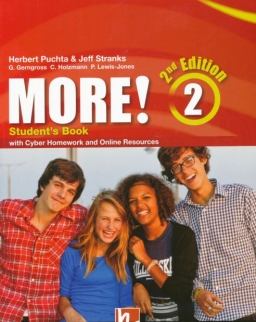 More! 2nd Edition 2 Student's Book with with Cyber Homework and Online Resources