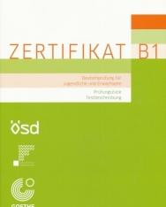 ZERTIFIKAT B1 Deutschprüfung für Jugendliche und Erwachsene - Prüfingsziele Testbeschreibung