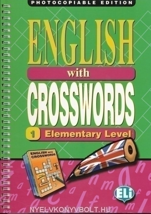 English with Crosswords 1 - Elementary