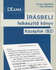 DExam Írásbeli felkészítő könyv középfok B2