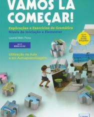 Vamos Lá Começar! Explicaçoes e Exercícios de Gramática (Livro segundo o novo Acordo Ortográfico)  Níveis de de iniciaçao e elementar