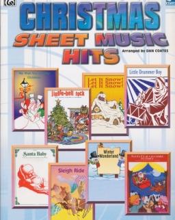 Christmas Sheet Music Hits - easy piano