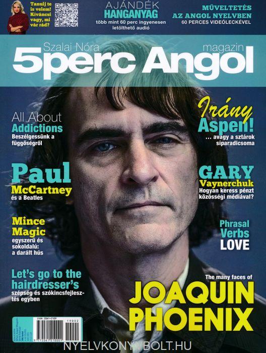 5 Perc Angol Magazin 2019 Február