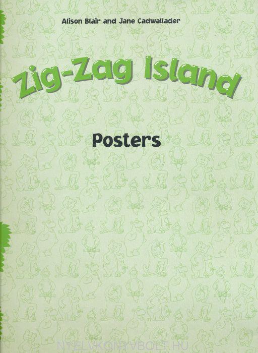 Zig-Zag Island Posters
