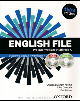 English File - 3rd Edition - Pre-Intermediate Multipack A with iTutor DVD-Rom