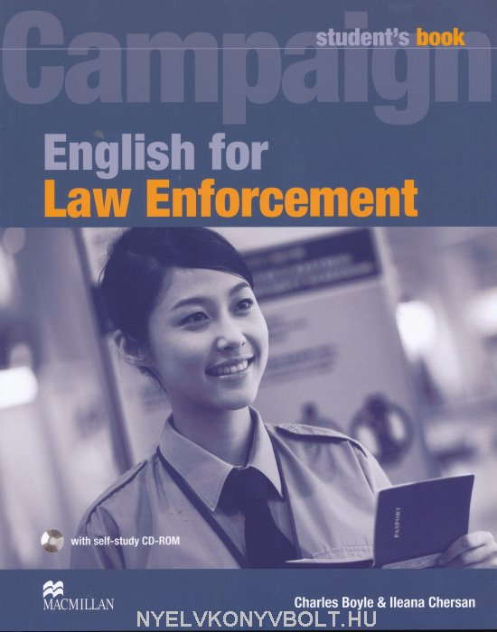 Campaign English for Law Enforcement Student's Book + Self-Study CD-ROM