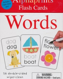 Alphaprints - Wipe Clean Flash Cards: Words