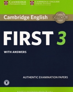 Cambridge English First 3 Student's Book with Answers with Audio Download