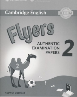 Cambridge English Flyers 2 Answer Booklet for Revised Exam From 2018