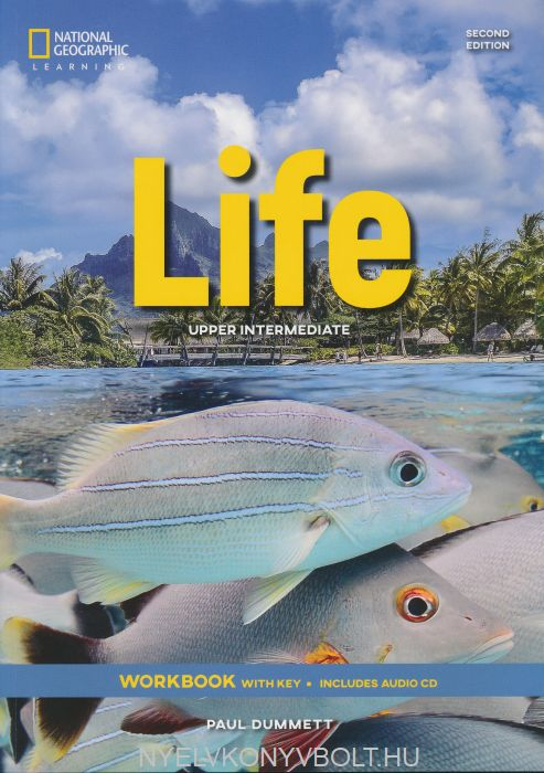 Life 2nd Edition Workbook with key includes Audio CD