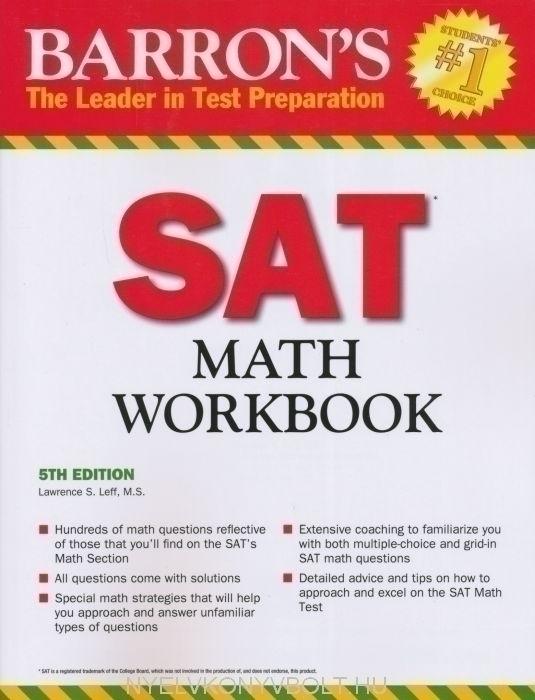 Barron's SAT Subject Math Workbook 5TH Edition