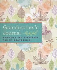 Blue Streak: Grandmother's Journal: Memories and Keepsakes for My Grandchild