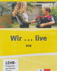 Wir...live Grundkurs Deutsch für junge Lerner. DVD-ROM