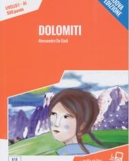 Dolomiti + Audio On Line - Letture Italiano Facile Livello 1 A1 500 Parole - Nuova Edizione