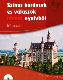 Színes kérdések és válaszok német nyelvből B1 szint MP3 CD-vel (MX-436)