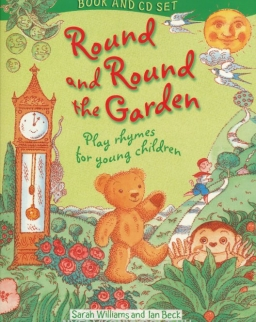 Round and Round the Graden with Audio CD - Play rhymes for young children