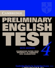 Cambridge Preliminary English Test 4 Official Examination Past Papers 2nd Edition Student's Book with Answers