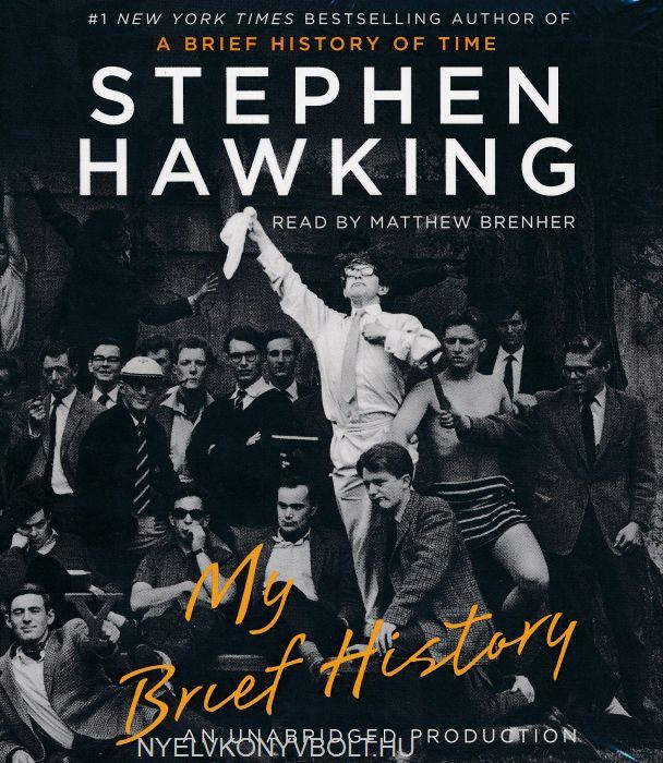 Stephen Hawking: My Brief History - Audio Book (2CDs)
