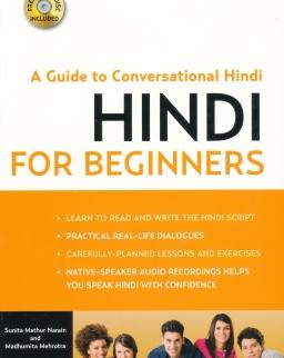 Hindi for Beginners + Free Audio CD