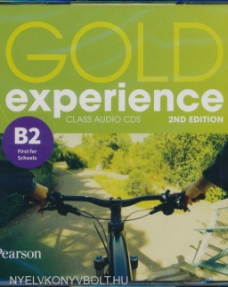 Gold Experience 2nd Edition Level B2 First for Schools Class Audio CDs