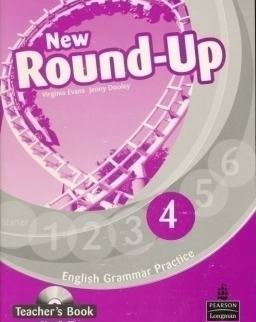 New Round-Up 4 Teacher's Book with Audio CD